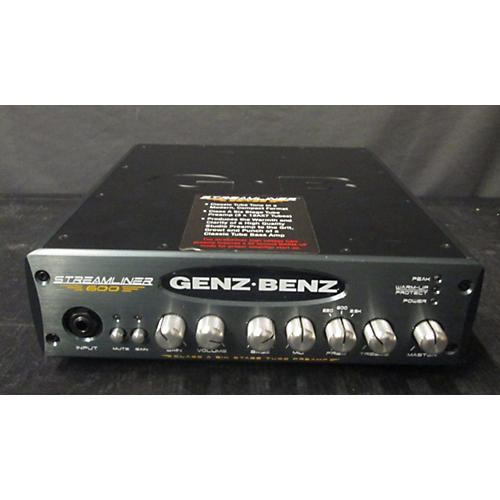 used genz benz streamliner 600 bass amp head guitar center. Black Bedroom Furniture Sets. Home Design Ideas