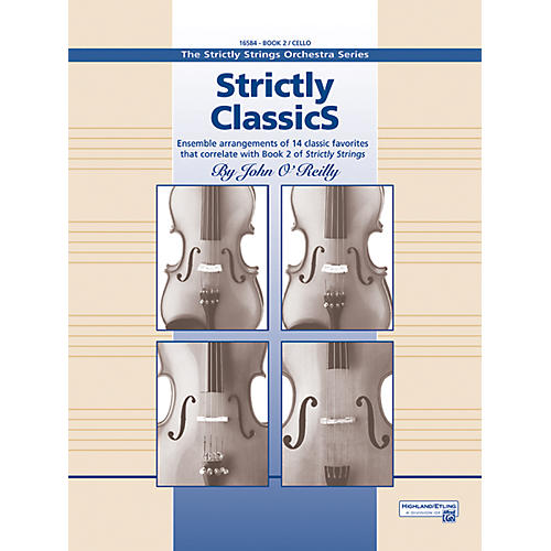 Alfred Strictly Classics Book 2 Cello
