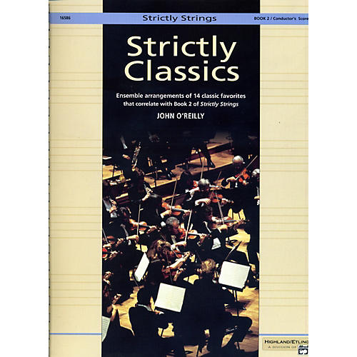 Alfred Strictly Classics Book 2 Conductor's Score-thumbnail
