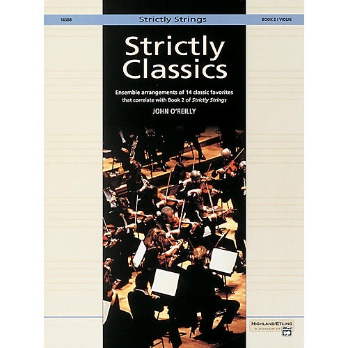Alfred Strictly Classics Book 2 Violin-thumbnail