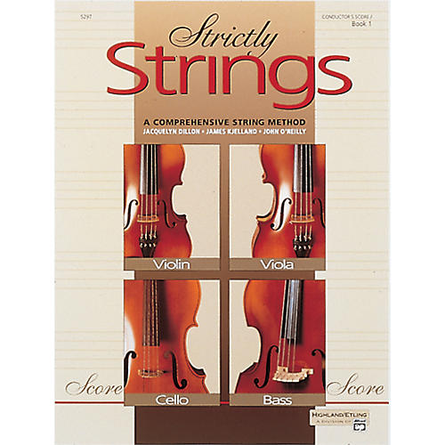 Alfred Strictly Strings Book 1 Conductor's Score-thumbnail
