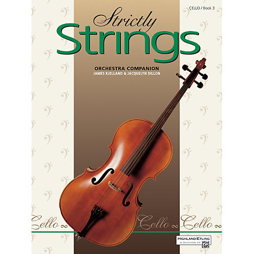 Alfred Strictly Strings Book 3 Cello-thumbnail