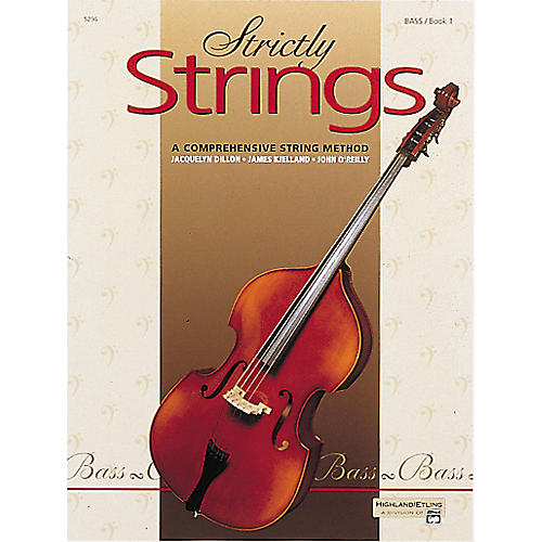 Alfred Strictly Strings Level 1 Bass-thumbnail