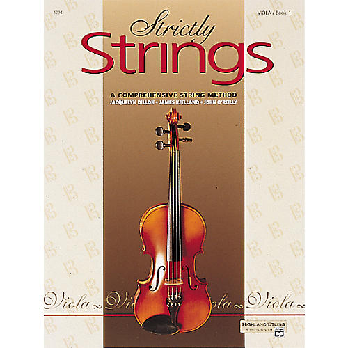 Alfred Strictly Strings Level 1 Viola-thumbnail
