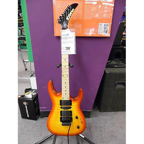 Kramer Striker FR-424CR Solid Body Electric Guitar Cherry Sunburst