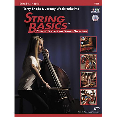 KJOS String Basics Book 1 for String Bass-thumbnail