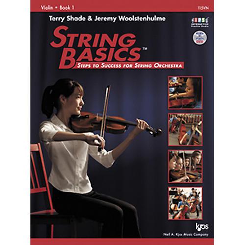 KJOS String Basics Book 1 for Violin