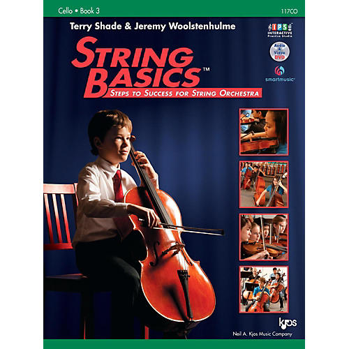 KJOS String Basics Book 3 - Cello