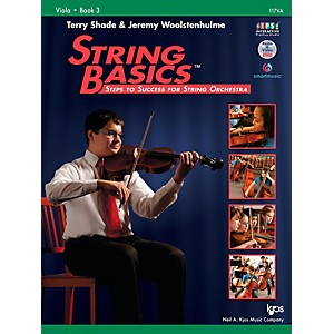KJOS String Basics Book 3 - Viola by KJOS