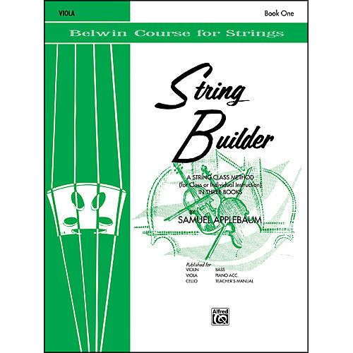 Alfred String Builder Viola Book I-thumbnail