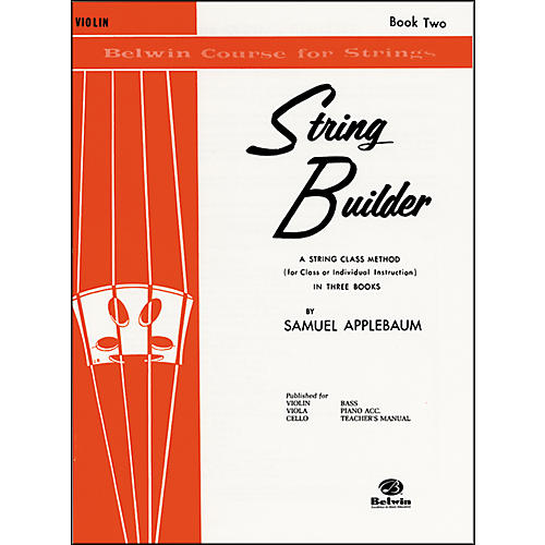 Alfred String Builder Violin Book II-thumbnail