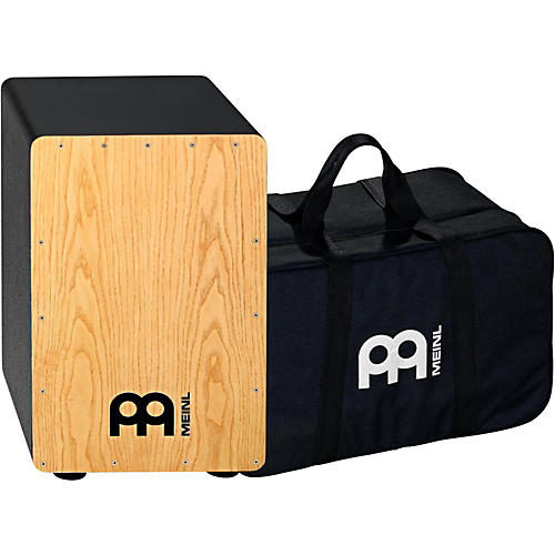 Meinl String Cajon with free padded bag American White Ash
