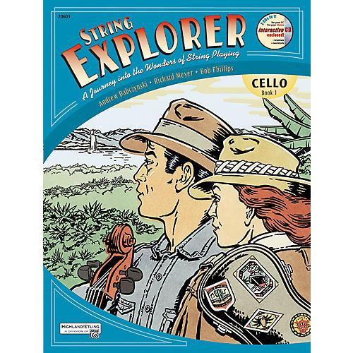 Alfred String Explorer for Cello, Book 1-thumbnail