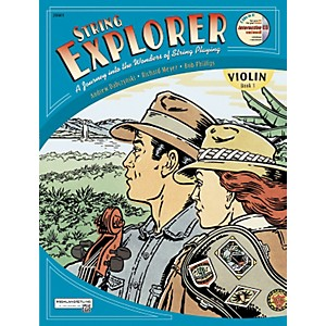 Alfred String Explorer for Violin, Book 1 by Alfred
