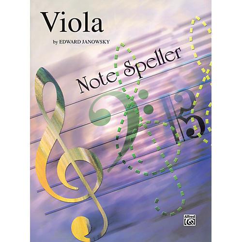 Alfred String Note Speller Viola-thumbnail
