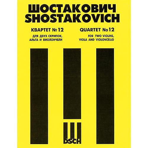 DSCH String Quartet No. 12, Op. 133 (Parts) DSCH Series Composed by Dmitri Shostakovich