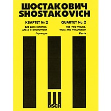 DSCH String Quartet No. 2, Op. 68 (Set of Parts) DSCH Series Composed by Dmitri Shostakovich