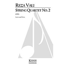 Lauren Keiser Music Publishing String Quartet No. 2 (Score and Parts) LKM Music Series by Reza Vali