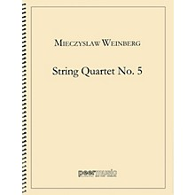 Peer Music String Quartet No. 5 Peermusic Classical Series by Mieczyslaw Weinberg