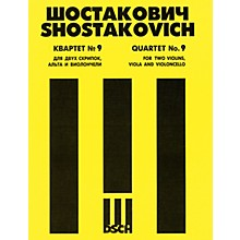 DSCH String Quartet No. 9, Op. 117 (Parts) DSCH Series Composed by Dmitri Shostakovich