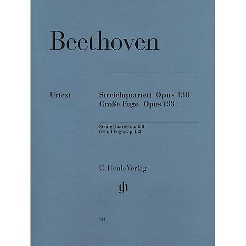 G. Henle Verlag String Quartet in B-flat Major, Op. 130 and Great Fugue, Op. 133 Henle Music by Ludwig van Beethoven