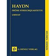 G. Henle Verlag String Quartets - Volume I Henle Study Scores Series Softcover Composed by Franz Joseph Haydn
