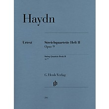 G. Henle Verlag String Quartets - Volume II Op. 9 Henle Music Folios Series Softcover Composed by Joseph Haydn