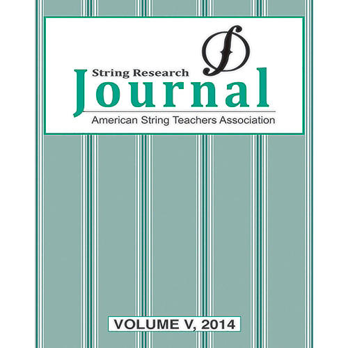 Alfred String Research Journal: Volume V, 2014 Book-thumbnail