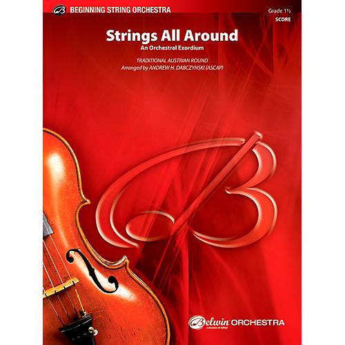 Alfred Strings All Around String Orchestra Grade 1.5 Set-thumbnail