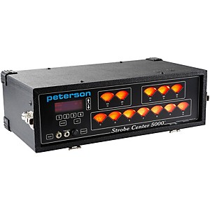 Peterson Strobe Center 5000-II Tuner by Peterson