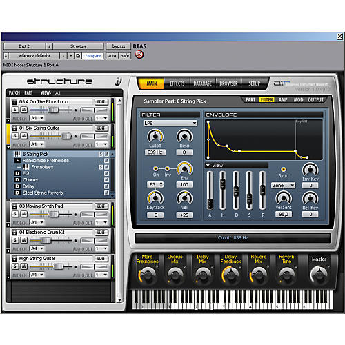 Digidesign Structure LE Sampler Virtual Instrument-thumbnail