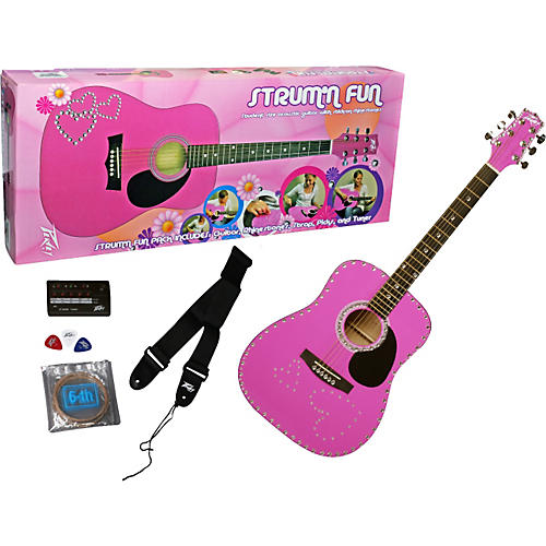 Peavey Strum'N Fun Acoustic Guitar Pack