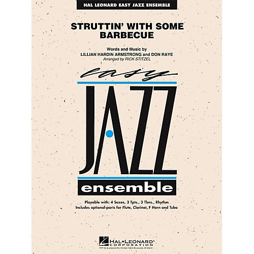 Hal Leonard Struttin' With Some Barbecue Jazz Band Level 2-thumbnail