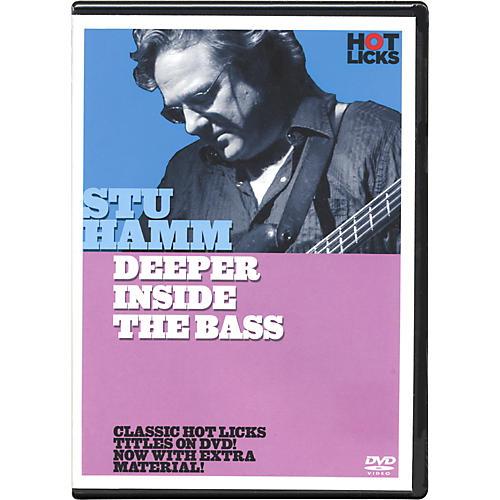 Hot Licks Stu Hamm Deeper Inside the Bass DVD-thumbnail