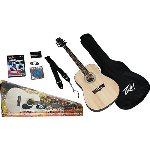 Peavey Student Acoustic Guitar Pack