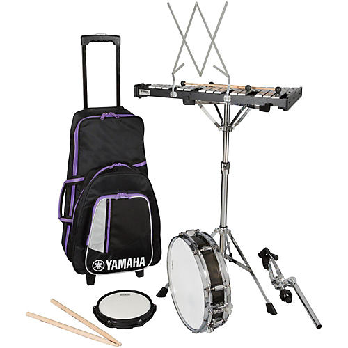 Yamaha Student Combination Percussion Kit with Rolling Case-thumbnail