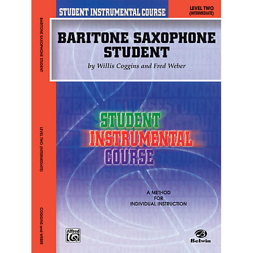 Alfred Student Instrumental Course Baritone Saxophone Student Level II-thumbnail