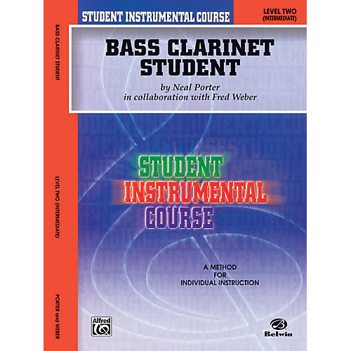 Alfred Student Instrumental Course Bass Clarinet Student Level II-thumbnail