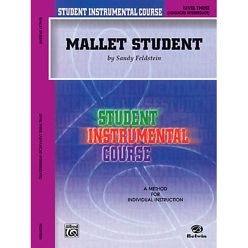 Alfred Student Instrumental Course Mallet Student Level 3 Book-thumbnail