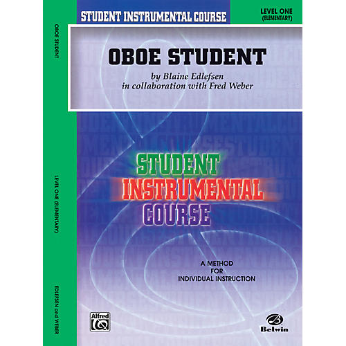 Alfred Student Instrumental Course Oboe Student Level I