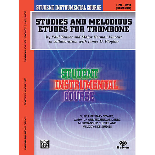 Alfred Student Instrumental Course Studies and Melodious Etudes for Trombone Level II-thumbnail