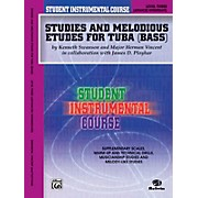 Alfred Student Instrumental Course Studies and Melodious Etudes for Tuba Level III