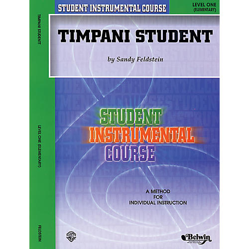 Alfred Student Instrumental Course Timpani Student Level 1 Book-thumbnail