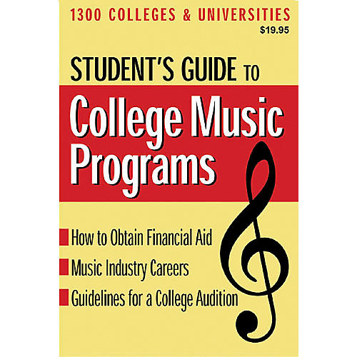 Hal Leonard Student's Guide to College Music Programs Book-thumbnail