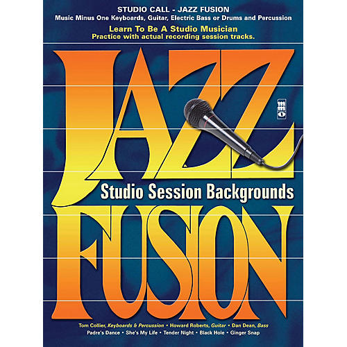 Music Minus One Studio Call: Jazz/Fusion - Electric Bass Music Minus One Series Softcover with CD