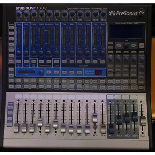 used presonus studio live 16 0 2 digital mixer guitar center. Black Bedroom Furniture Sets. Home Design Ideas