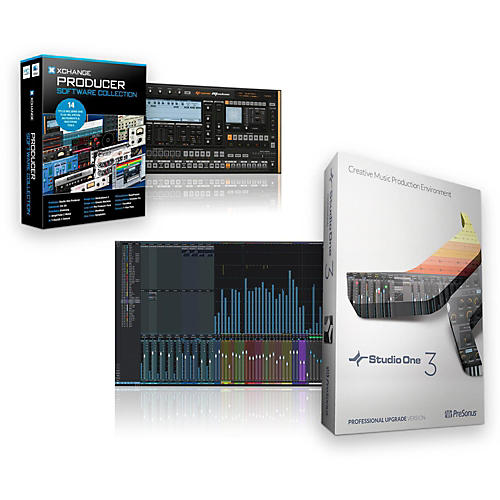 PreSonus Studio One 3.2 Professional Producer Bundle-thumbnail