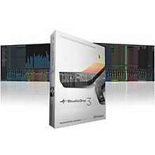 Presonus Studio One 3.2 Professional Upgrade from Artist 1 or 2 Software Download