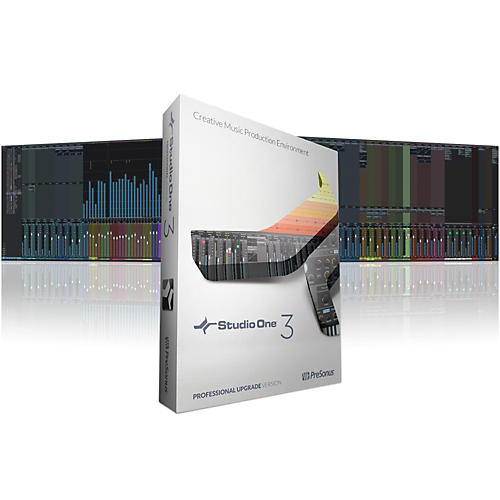 PreSonus Studio One 3.2 Professional Upgrade from Version 1 or 2 Software Download-thumbnail