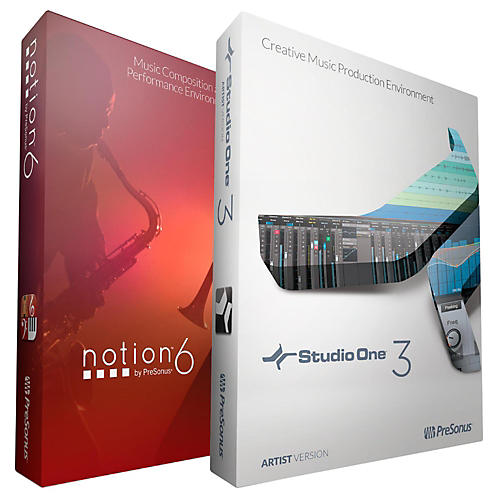 Presonus Studio One Artist and Notion 6 Bundle